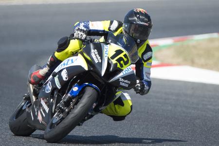 Driver Mamet, Luc. Moto3. Stratos Team. FIM CEV Repsol International Championship. Barcelona, Spain - June 17, 2017