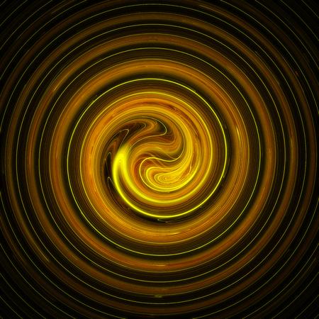 Abstract spiral 3d background illustration Stock Illustration - 89988534
