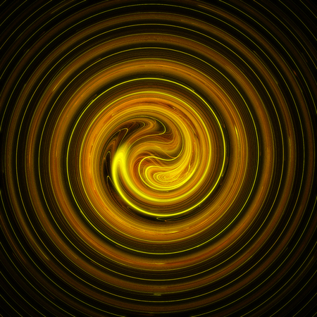 Abstract spiral 3d background illustration Stock Photo