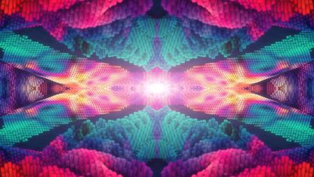 Abstract pattern mandala background