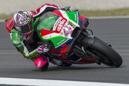 Driver Aleix Espargarao. Monster Energy Grand Prix of Catalonia MotoGP at Circuit of Catalonia. Barcelona, Spain, June 15, 2018