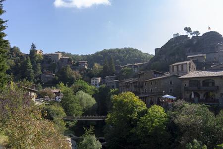 Rupit. Medieval village. Catalonia. Spain