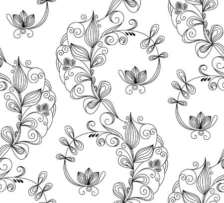 Seamless pattern. Vector illustration Stock Vector - 10428437