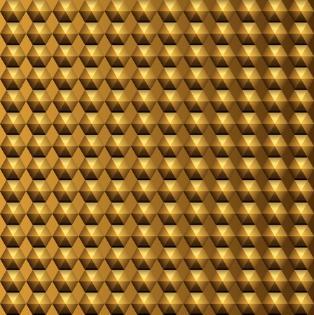 volume  background: Gold relief metal