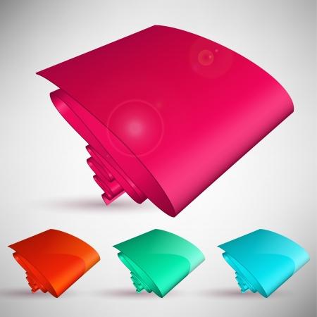 abstracte vormen: Kleur bubble spraak. Set abstracte vormen