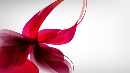 Pink fondo abstracto brillante resumen de flores Vectores