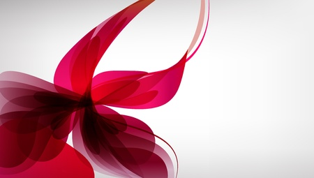 Pink abstract background  Bright abstract flower