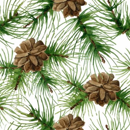 pine needles: New Year