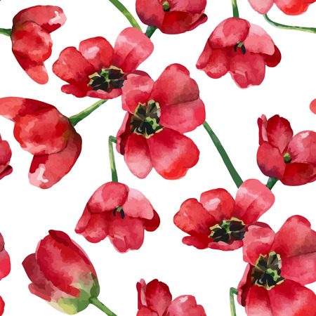 Motif floral. seamless background. Illustration