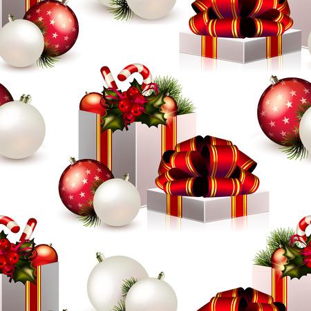 Patr�n transparente de Navidad