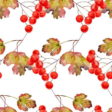 Autumn seamless pattern photo