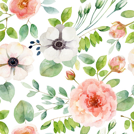 Seamless floral pattern Banque d'images - 99268967