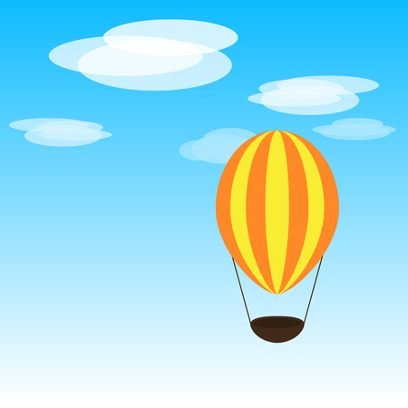 good day: Bright airballon. Have a good day.