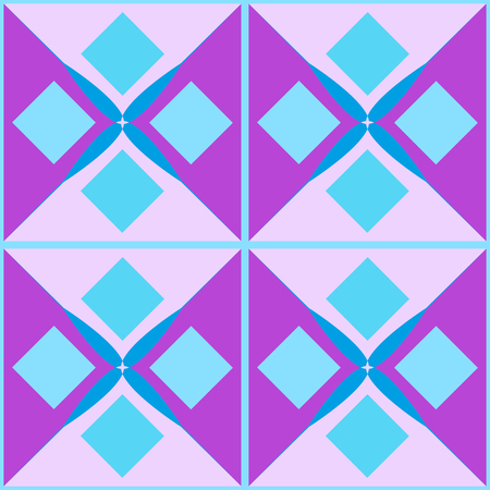 Background. Seamless multicolored pattern. Abstract geometric wallpaper of the surface.
