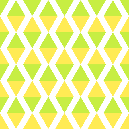 Abstract geometric multicolored pattern