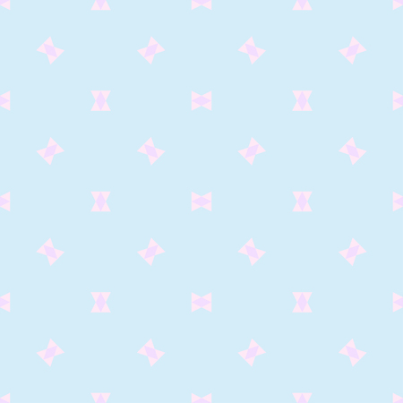 Seamless multicolored pattern. Abstract geometric wallpaper of the surface. Cute background. Pastel colors. Print for polygraphy, posters, t-shirts and textiles. Beautiful texture. Doodle for design Stock Photo