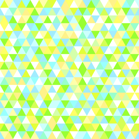 Background. Seamless texture. Triangle pattern. Abstract geometric wallpaper of the surface. Print for  t-shirts and textiles. Ecological colors. Greeting cards Illustration