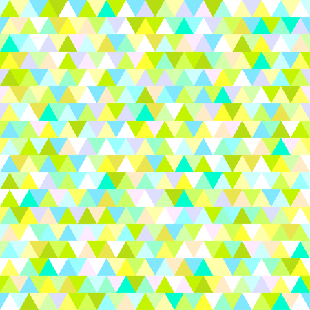 Background. Seamless texture. Triangle pattern. Abstract geometric wallpaper of the surface. Print for  t-shirts and textiles. Ecological colors