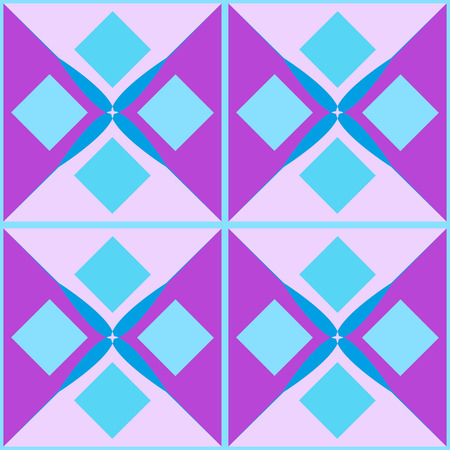 Background. Seamless multicolored pattern. Abstract geometric wallpaper of the surface. Pastel colors. Print for polygraphy, posters, t-shirts and textiles. Doodle for design