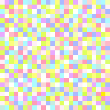 Seamless pattern. Multicolored pastel background. Abstract geometric wallpaper.