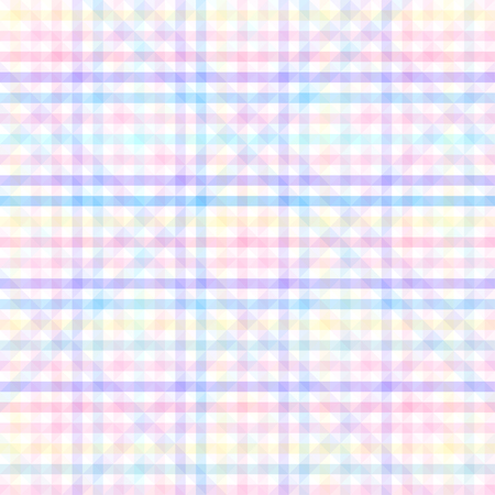 Seamless texture in checkered pattern, with colorful lines. Иллюстрация