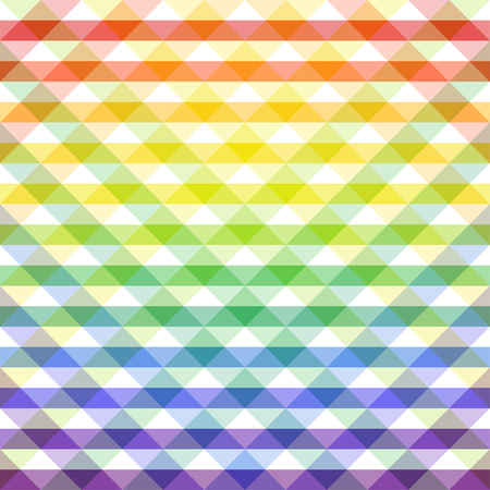 Seamless multicolored abstract pattern. Illustration