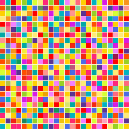 Seamless tile pattern. Checkered background. Abstract geometric wallpaper. Cute colors. Print for polygraphy, posters, t-shirts and textiles. Doodle for design Illustration