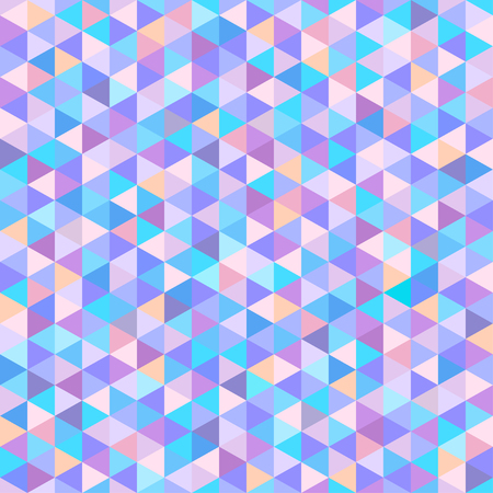 Seamless triangle pattern. Geometric wallpaper of the surface. Unique background. Doodle for design Illustration