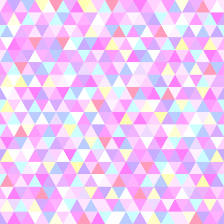 Seamless triangle tile pattern. Colorful wallpaper of the surface. Bright background. Print for polygraphy, posters, t-shirts and textiles. Unique texture. Doodle for design