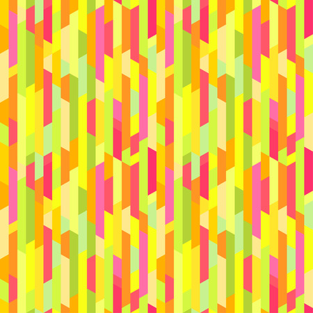 Seamless colored pattern with stripes. Bright tile wallpaper of the surface. Striped background. Print for typography, posters and textiles Illustration