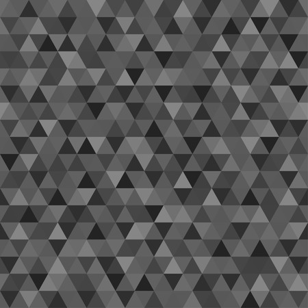 Seamless triangle pattern. Colorful wallpaper of the surface. Tile background. Print for polygraphy, posters, t-shirts and textiles. Unique texture. Doodle for design Illustration