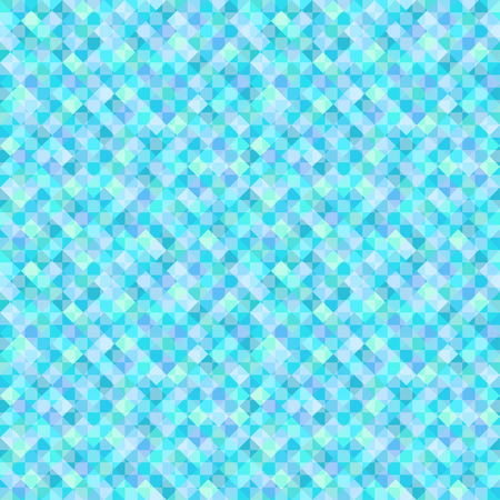 Multicolored tile background. Checkered geometric wallpaper of the surface. Bright colors. Seamless sea pattern. Print for banners, posters, flyers and textiles. Greeting cards. Doodle for design Illustration