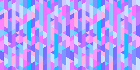 Tiled multicolored pattern. Geometric background. Seamless grid texture. Colored wallpaper of the surface. Print for banners, t-shirts and textiles