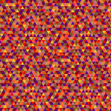 Seamless triangle pattern. Geometric wallpaper of the surface. Unique background. Doodle for design. Bright colors. Print for flyers, posters, t-shirts and textiles Stock Vector - 104381917