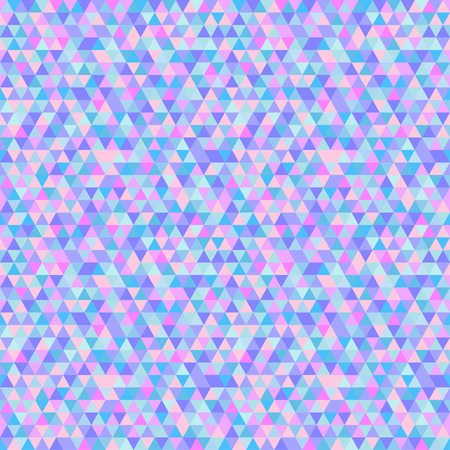 Triangle tile pattern. Seamless geometric wallpaper of the surface. Unique background. Doodle for design. Light colors. Print for polygraphy, posters, t-shirts and textiles. Luxury texture