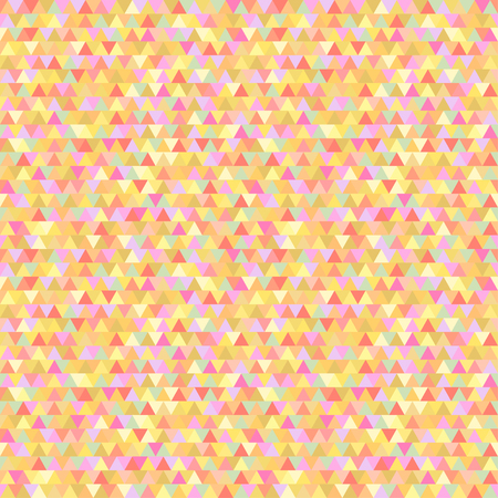 Seamless triangle pattern. Abstract geometric wallpaper of the surface. Cute background. Pastel colors. Print for polygraphy, posters, t-shirts and textiles. Bright texture. Doodle for design