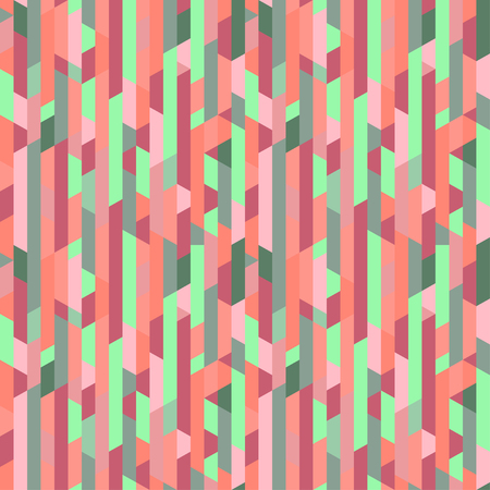 Tiled background. Geometric colored pattern. Abstract wallpaper. Seamless striped texture with segments. Print for banners, posters, flyers and textiles. Greeting cards. Doodle for design