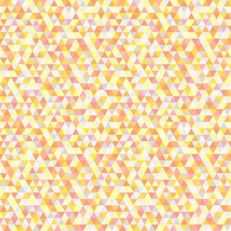 Seamless triangle pattern. Abstract geometric wallpaper of the surface. Cute background. Pastel colors. Print for polygraphy, posters, t-shirts and textiles. Beautiful texture. Doodle for design