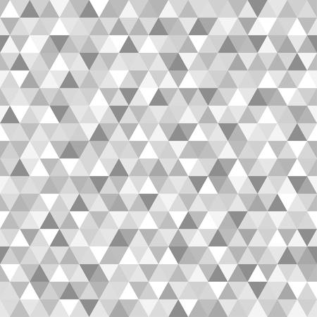 Nahtloses Dreiecksmuster. Abstrakte geometrische Tapete der Oberfläche. Fliesenhintergrund. Druck für Polygraphie, Poster, T-Shirts und Textilien. Mosaik Textur. Gekritzel für Design Vektorgrafik
