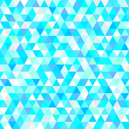 Seamless triangle pattern. Geometric wallpaper of the surface. Unique background. Doodle for design. Bright colors. Print for flyers, posters, t-shirts and textiles Illustration