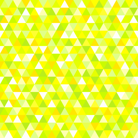 Triangle pattern. Seamless geometric wallpaper of the surface. Cute background with bright colors. Print for polygraphy, posters, t-shirts and textiles. Beautiful texture. Doodle for design