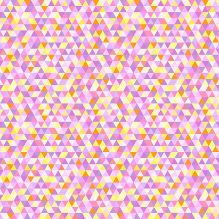 Triangle pattern. Seamless geometric wallpaper of the surface. Unique background. Pastel colors. Print for flyers, posters, t-shirts and textiles Illustration