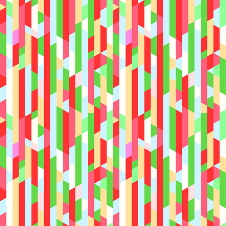 Polygonal vertical pattern. Colorful wallpaper of the surface. Seamless bright tile background. Print for banners, posters, t-shirts and textiles. Unique texture. Doodle for design Illustration