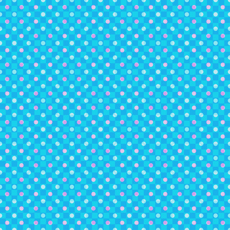 Seamless multicolored pattern with dots. Checkered background. Abstract geometric wallpaper of the surface. Bright colors. Print for polygraphy, posters, t-shirts and textiles. Doodle for design