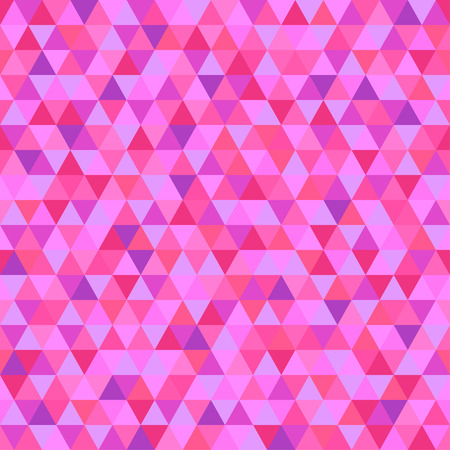 Seamless triangle pattern. Pretty colors. Abstract geometric wallpaper of the surface. Cute background. Print for polygraphy, posters, t-shirts and textiles. Beautiful texture. Doodle for design 矢量图像