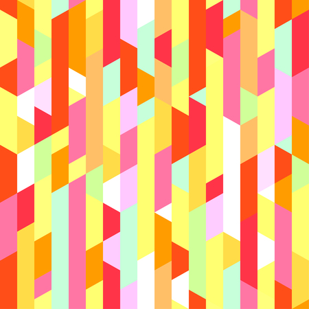 Seamless pattern with many segments. Striped multicolored background. Abstract vertical texture. Geometric wallpaper of the surface. Print for polygraphy, t-shirts and textiles. Doodle for design