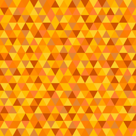 Seamless triangle pattern. Pretty colors. Abstract geometric wallpaper of the surface. Cute background. Print for polygraphy, posters, t-shirts and textiles. Beautiful texture. Doodle for design Ilustração