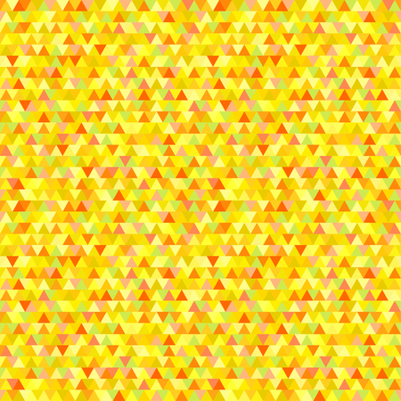 Triangle tile pattern. Geometric wallpaper of the surface. Seamless cute background. Pretty colors. Print for polygraphy, flyers, posters, t-shirts and textiles. Beautiful mosaic texture