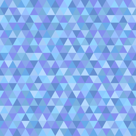 Seamless triangle pattern. Cold colors. Abstract geometric wallpaper of the surface. Cute background. Print for polygraphy, posters, t-shirts and textiles. Beautiful texture. Doodle for design
