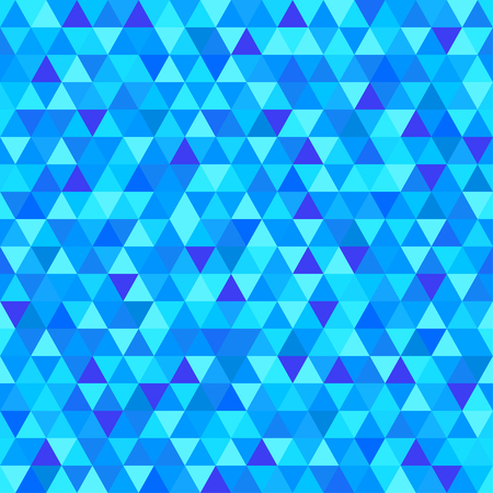 Seamless triangle pattern. Geometric wallpaper of the surface. Unique background. Doodle for design. Bright colors. Print for flyers, posters, t-shirts and textiles Ilustração
